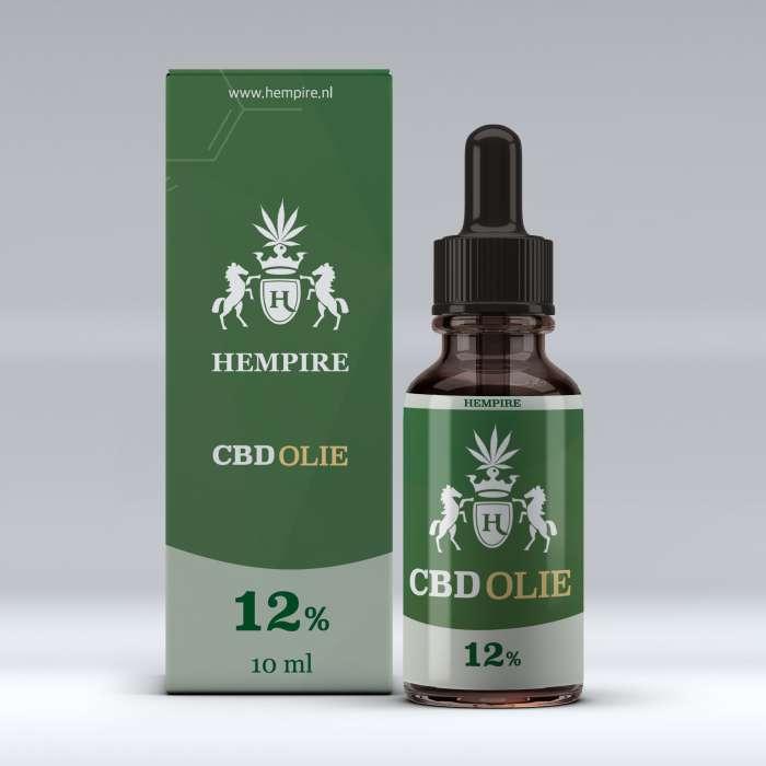 Hempire CBD olie 12% 10 ml met doosje