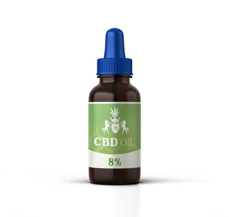 hempire cbd olie 8% 10 ml
