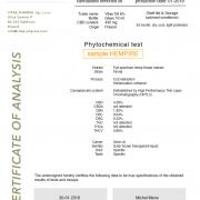 hempire 8% CBD testrapport