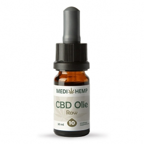 Hempire Medi-Hemp CBD olie RAW 10 procent