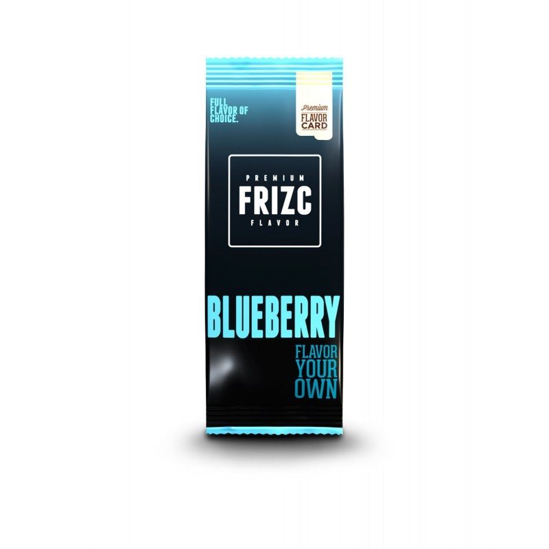 blueberry flavor card