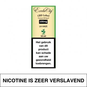 Exclucig Cbd Label E-Liquid La Haze 100Mg Cbd 10Ml