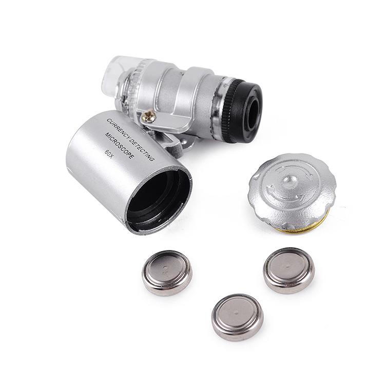 mini pocket microscoop 60x